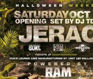 cover event RAM/HalloWOOF - Dallas