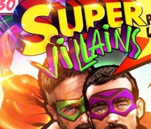 cover event Supervillains / The Dark Knight