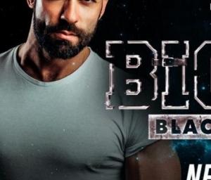 cover event BIGGER BLACK & LEATHER COM DJ NEO SCOTT (ESPANHA)
