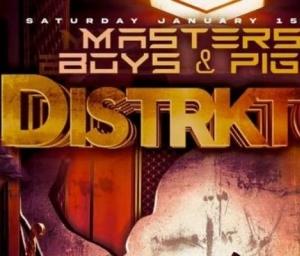 cover event Distrkt C Presents: MAL weekend - Twisted Dee Martello