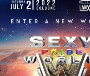 cover event SEXY Pride World 2022   Lanxess Arena with Offer Nissim