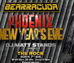 cover event Bearracuda Phoenix RELAUNCH: New Year's Eve!