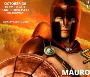 cover event WE Party Spartans - Halloween Edition - by XOXO & Cecil Russell Presents