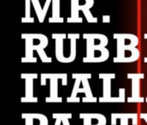 cover event Mister Rubber Italia 2022 (  Social Aperitif)