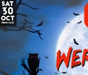 cover event BIG WEREWOLF with YINON YAHEL - HALLOWEEN PARTY @YOYO