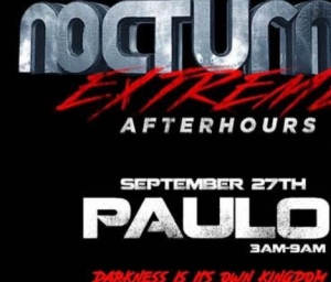 cover event NOCTURNAL EXTREME- SF Leather weekend closing party NOCTURNAL EXTREME AFTERHOURS with music by DJ PAULO