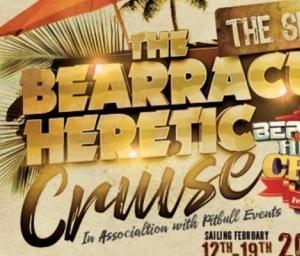 cover event Bearracuda Heretic Caribbean Cruise 2022!