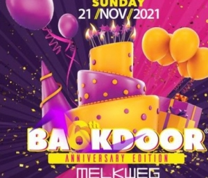 cover event BACKDOOR 6th Anniversary - New Date & New Opening Hours!
