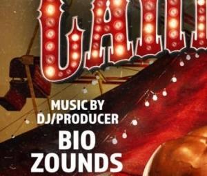 cover event CALIBR CARNEVIL 2 FT. DJ/PRODUCER BIO ZOUNDS
