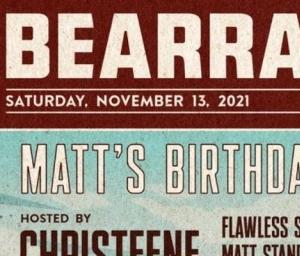 cover event Bearracuda Portland: Matt Bearracuda's 2021 Birthday Splash!